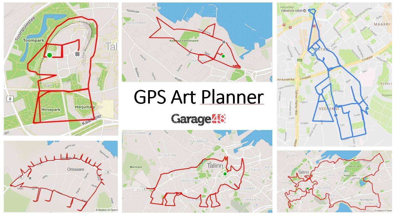 GPS Art Planner Tartu