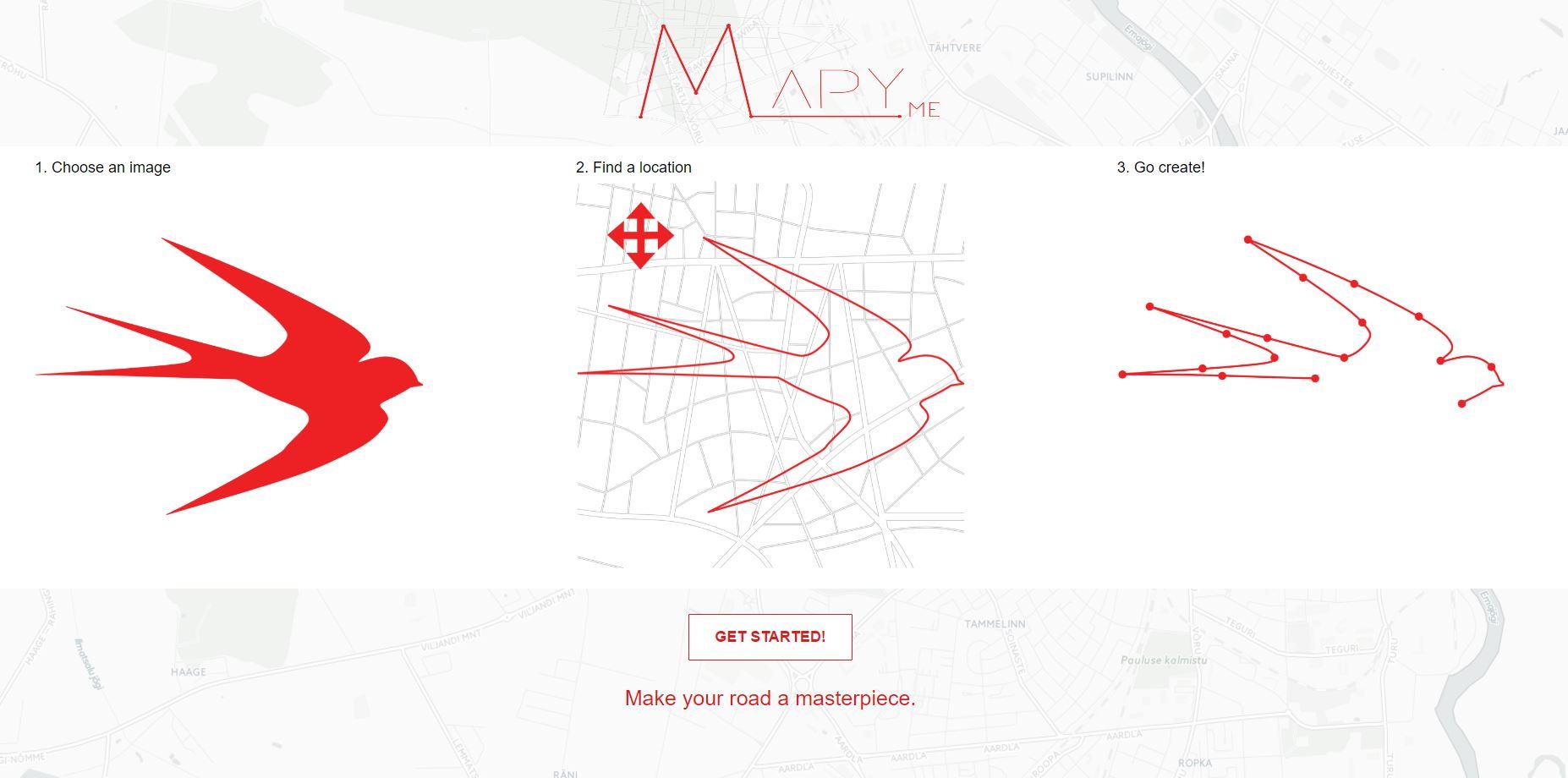 MapyMe esileht