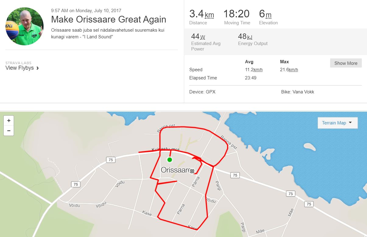 Make Orissaare Great Again